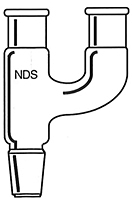 1014 Dual Entry Claisen Distillation Adapters - Manufactured by NDS Technologies, Inc.