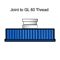 4021 Wide Mouth, Joint to Thread Inlet Adapter - Manufactured by NDS Technologies, Inc.