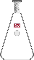 4026 Flask, Erlenmeyer - Manufactured by NDS Technologies, Inc.