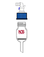 4407 Pressure Filter / Drying Funnel - Manufactured by NDS Technologies, Inc.