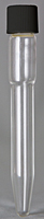 8059 Tube with Cap, Dual Purpose, All-Glass - Manufactured by NDS Technologies, Inc.