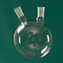 3235 - 2 Neck Round Bottom Flask - Manufactured by NDS Technologies, Inc.