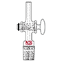 3730 Gas Inlet Adapter - Manufactured by NDS Technologies, Inc.