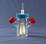7701-Series, Spinner Flask, Flat Bottom, Adjustable - Manufactured by NDS Technologies, ndsglass.com