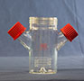 7705-Series Spinner Flask Only, Dimpled Bottom - Manufactured by NDS Technologies, ndsglass.com